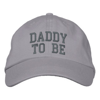 DADDY TO BE EMBROIDERED HAT