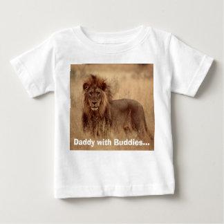 Daddy w Buddies Baby T-Shirt