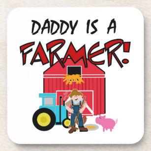 daddyisafarmerTEE Coaster