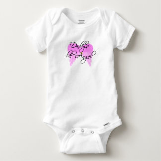 Daddy's Angel Baby Onesie