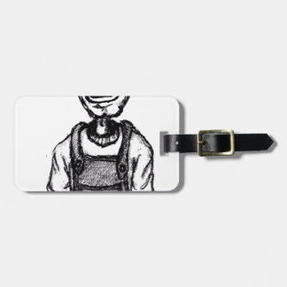 Daddys Bedtime Stories - children teen young adult Luggage Tag