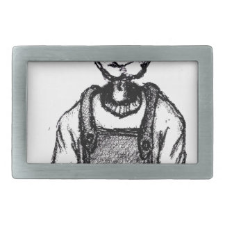 Daddys Bedtime Stories - children teen young adult Rectangular Belt Buckle