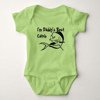 Daddy's Best Catch - Mahi Fishing Bodysuit