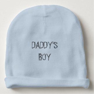 """DADDY'S BOY"" Baby Boy Cotton Beanie Baby Beanie"