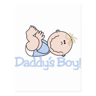 Daddys Boy! Postcard