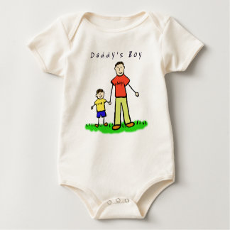 Daddy's Boy T-Shirt (Brunette Drawing Front Side)