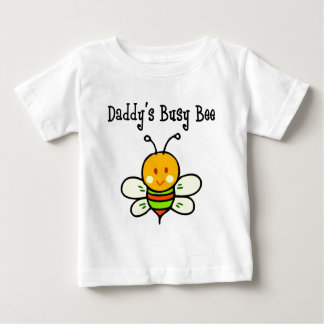 Daddy's Busy Bee Baby T-Shirt