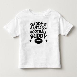 Daddy's Fantasy Football Buddy Toddler T-shirt