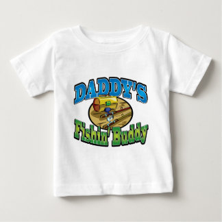 Daddy's fishing buddy baby T-Shirt