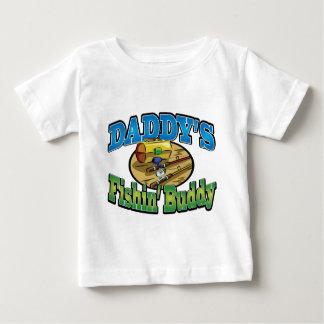Daddy's fishing buddy tee shirt