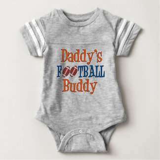 Daddy's Football Buddy Baby Football Bodysuit