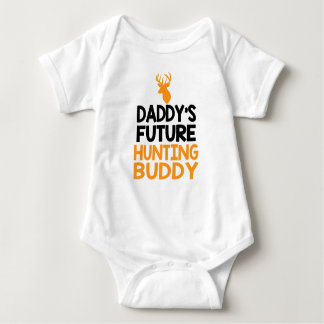 Daddy's Future Hunting Buddy Baby Bodysuit