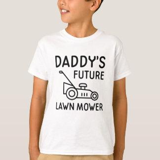 Daddy's Future Lawn Mower T-Shirt