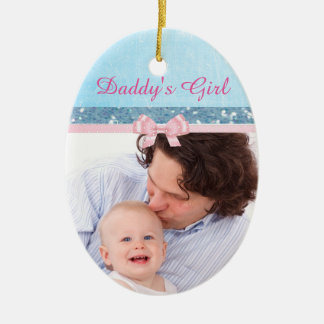 Daddy's Girl Baby Keepsake Ornament