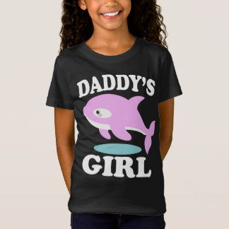 Daddy's Girl Daughter Whale Gift T-Shirt