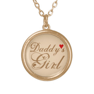 Daddy's Girl Gold Plated Necklace