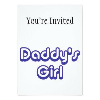 Daddy's Girl 5x7 Paper Invitation Card