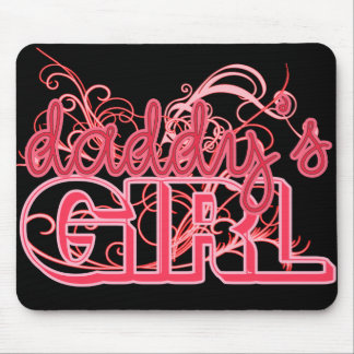 DADDYS GIRL MOUSE PAD