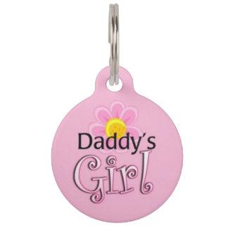 Daddy's Girl Pet ID Tag