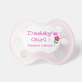 Daddy's Girl Psalm 139:13 Collection Pacifier