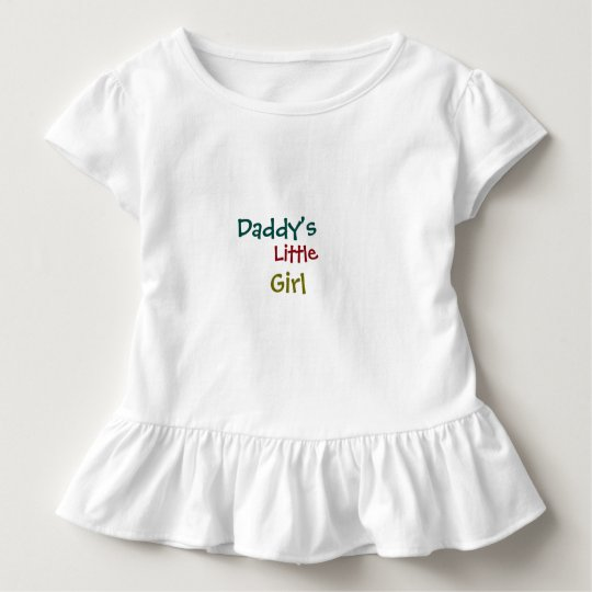 Daddy's Girl toddler ruffle Tee