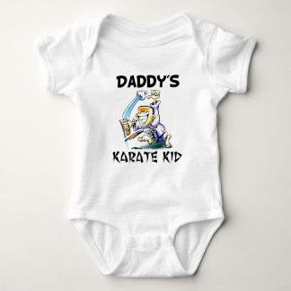 Daddy's Karate Kid Baby Bodysuit
