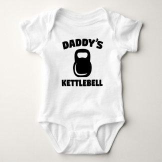 Daddy's Kettlebell Baby Bodysuit