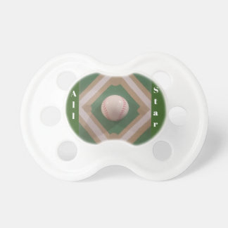 Daddy's Lil' All Star Pacifier