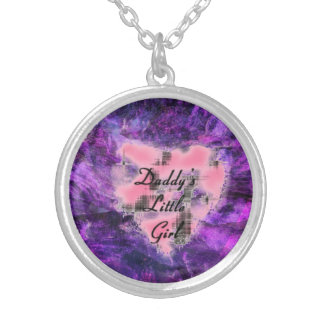 Daddy's Lil Girl Silver Plated Necklace