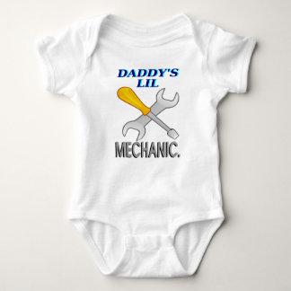 Daddy's Lil Mechanic Baby Bodysuit