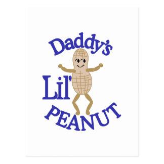 Daddy's Lil' Peanut Postcard