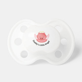daddys little angel baby pacifiers