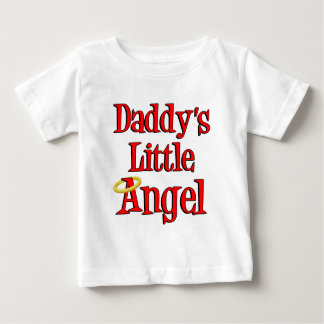Daddy's Little Angel Baby T-Shirt