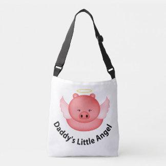 daddys little angel crossbody bag