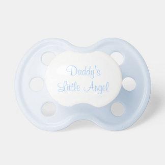 Daddy's little angel pacifier