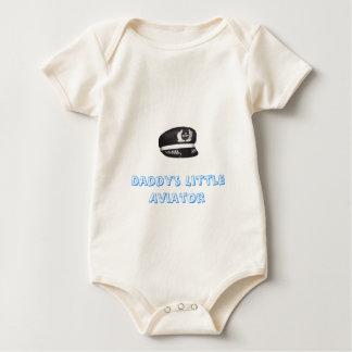 Daddy's Little Aviator Baby Bodysuit
