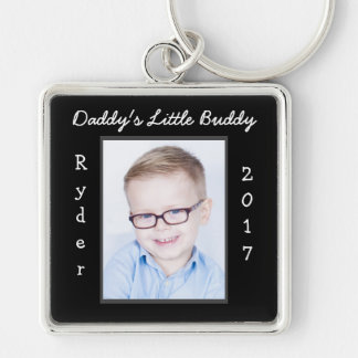 Daddy's Little Buddy Photo Keychain Customize