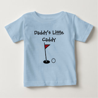 """Daddy's Little Caddy"" Baby Shirt"
