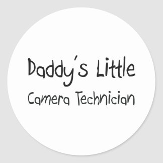 Daddy's Little Camera Technician Stickers