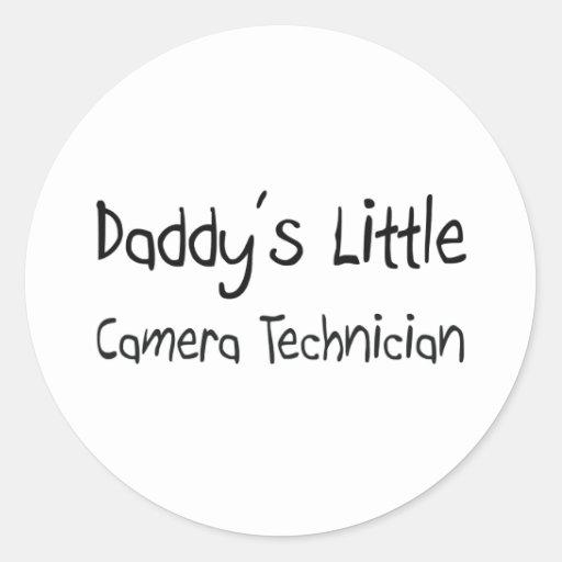 Daddy's Little Camera Technician Stickers