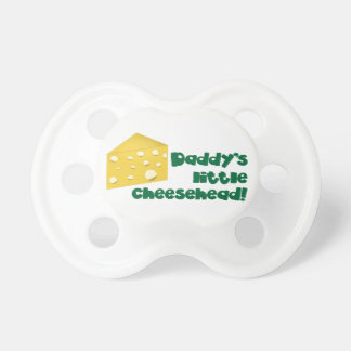 Daddy's Little Cheesehead! Pacifiers