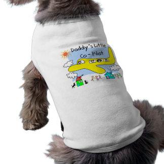 Daddy's Little Co-Pilot Kids T-Shirts