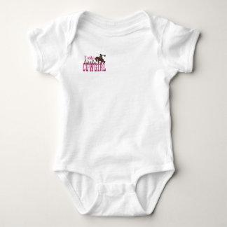 Daddy's Little Cowgirl Baby Bodysuit