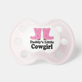 """""""Daddy's Little Cowgirl"""" Baby Pacifiers"""