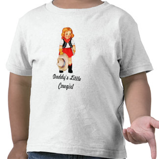 Daddy's Little Cowgirl Toddler T-Shirt