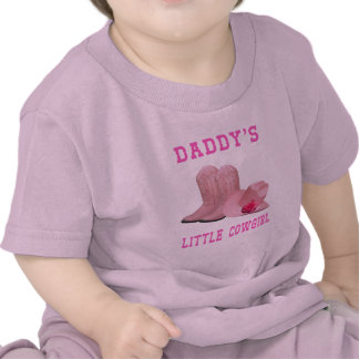 """""""Daddy's Little Cowgirl"""" Western Infant T-Shirt"""