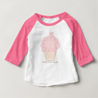 Daddys Little Cupcake Baby T-Shirt