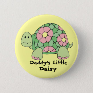 Daddy's Little Daisy 2 Inch Round Button