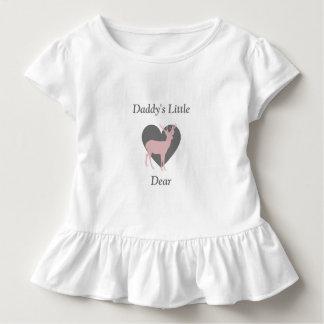 Daddy's Little Dear Baby Girl Deer Shirt