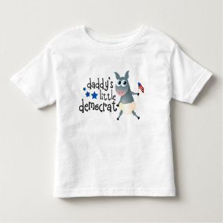 Daddy's Little Democrat Kids Tee